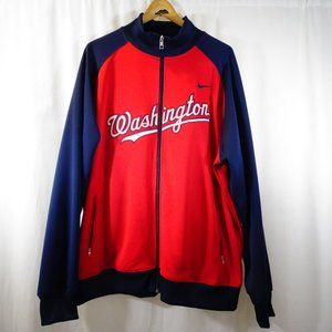 Washington Nationals NIKE MLB Full Zip Men's XXL